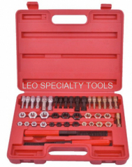 42pcs Universal Metric Taps Dies Thread Repair Tool Kit