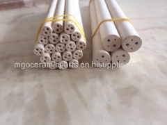 yellow four holes Magnesium oxide tube
