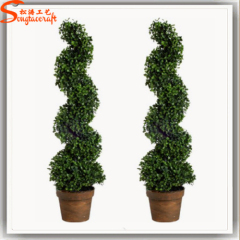 Plastic grass indoor topiary boxwood outdoor grass for home garden decoration ball