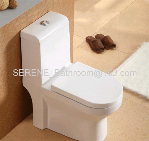 Project style Ceramic White Color One Piece Toilet