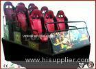 6Kw Hydraulic Motion Theater Seats 9 Seats For 5D Cinema Indoor