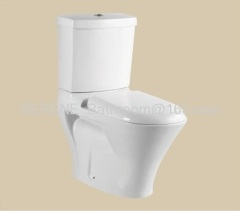 New Design Popular Hot Sell Ceramic White Color Two Piece Toilet