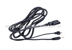 Audio cable for Audi Ami VW MMI A4 A6 A8 Connector for Samsung HTC 2M LONG