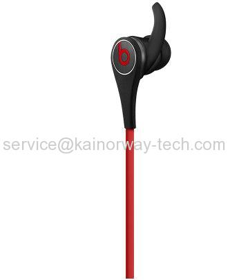 Beats Tour2 Active Collection In-Ear Earbud Headphones With In-Line Mic Black&Red