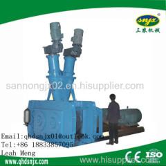 2016 Hot Double Roller Press Granulator Machine for Making Pellet
