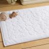 100% cotton custom jacquard hotel bath floor mat towels