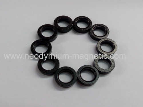 Black circle of bonded ndfeb magnet
