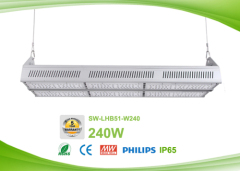 IP65 240w LED Linear High Bay Lamps