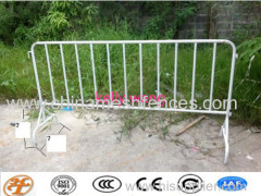 wheeled crowd control barrier;wheeled safety road barrier