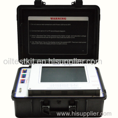 Analysis Equipment for Measuring Current Transformer