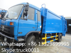 hot sale dongfeng Cummins 170hp garbage compactor truck
