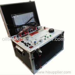 High Voltage and Middle Voltage Relay Tester