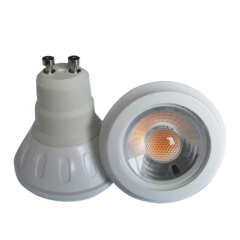 COB Plastic GU10 3W Led Spot Light Beam 38°/60°