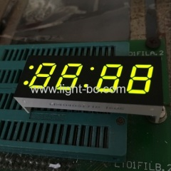 "Super Green 0.4"" 4 digit 7 segment led clock display for washing machine"