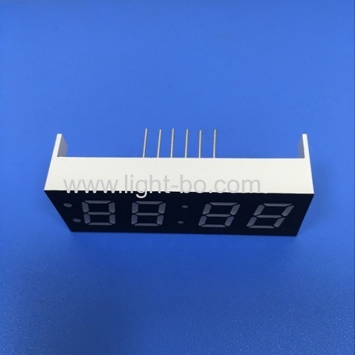 Super Green 0.4 4 digit 7 segment led clock display for washing machine