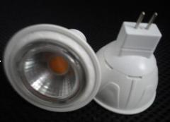 COB 7W MR16 LED Spotlight DC12V Φ50*55mm Plastic Housing