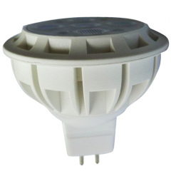 Plastic GU5.3 SMD2835 5W Led Spot Light MR16 Base Beam 45°/60°
