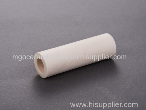 Yellow single hole MGO tube