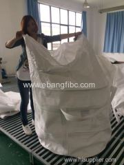 Top skirt big bag for packing metal founding