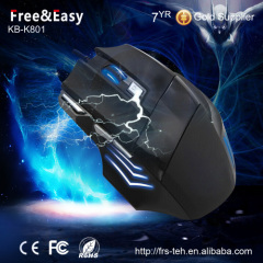 Hot sell optical wired 7D gamer mouse for desktop