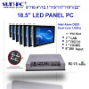 18.5 inch LED widescreen industrial computer panel pc