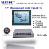 "17"" LCD Industrial rackmount computer Panel PC 4COM 2Lan 4USB"