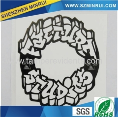 China largest Ultra destructible Eggshell stickers manufacturer wholesale high quantity custom Egg shell stickers