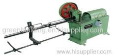 High efficiency straight and cutting machine