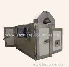 oil manufacturer powder painting oven With Trolley System
