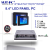 Sell 8 inch intel Atom D525 industrial computer touch panel pc 2COM 2LAN 4USB