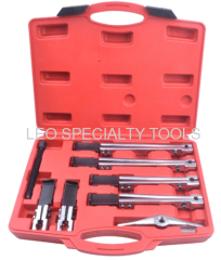8pcs Universal Bearing Puller Set with 2 Arms