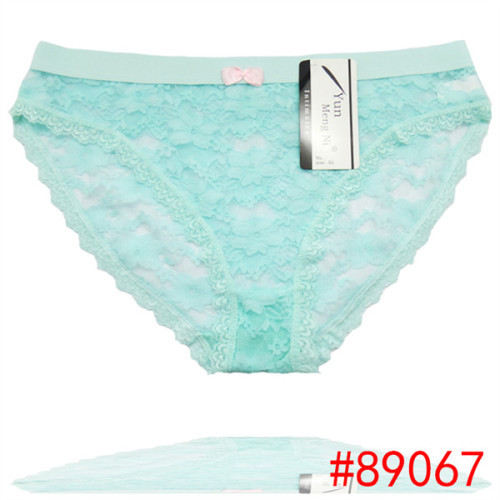 Sexy hot teen hipster transaprent lace short panties beautiful embrodired sexy lingerie