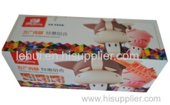 lehui 음식 팩 종이 상자 E-플루트 상자
