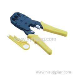 Network splice crimp tool