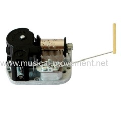 START STOP WIRE-ROD MUSICAL BOX MECHANISM