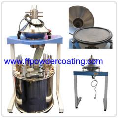 poedercoating zeef machines