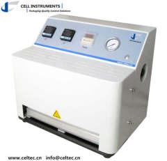 Packaging heat seal tester ASTM F2029 polymer heat sealer testing machine