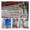 power & free powder coating plant for aluminum profiles