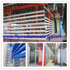 Power & gratis poedercoaten fabriek voor aluminium profielen