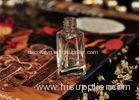 8ml Twisted Glass Clear Roll On Perfume Bottle Silk Printing Eco Friendly