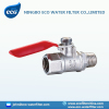 nickel plated brass ball valve
