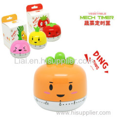 Kitchen Timers Cute 4 Animal Shapes To Choose Cooking Timer Cartoon Mini 55 Minutes Mechanical Timer Alarm Clock