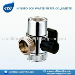 faucet adapter diverter valve