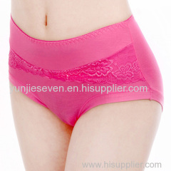 breathable bamboo fiber panties for lady
