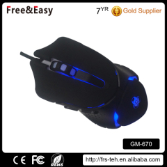 Fashion USB interface Notebook mouse wired gaming mouse