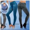 NEW - Genie Slim Women Denim Look Jeggings / Printed Slim Leggings