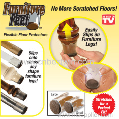 Furniture Feet Flexible Silicone Floor Protector