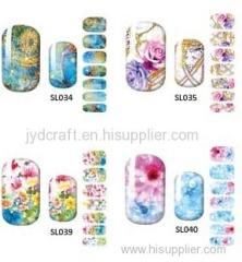 water decals nail sticker