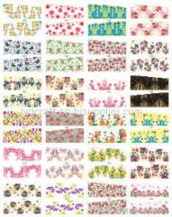 water decals nail sticker water nail stickers