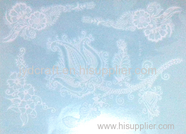 white henna lace temporary tattoo sticker the Metallic jewelry Temporary tattoo sticker Hot Stamping Flash Tattoo stic
